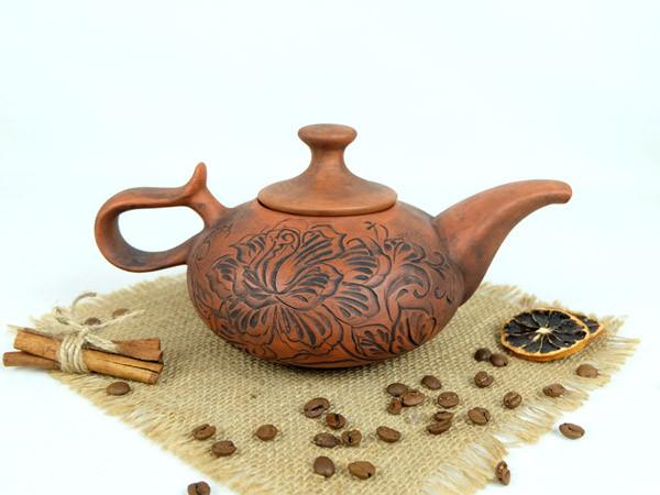 Чайник заварочный Восточный 700 мл красная глина