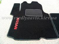 Водительский ворсовый коврик NISSAN Primastar (Черные)