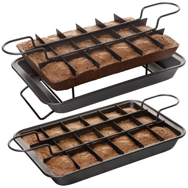 Форма для порционной выпечки Perfect Brownie
