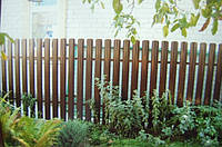 Забор штакетный секция Стандарт 2000 х 1500