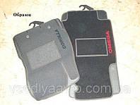 Коврики в салон ворсовые Mazda 6 (2002-2008) /Чёрные