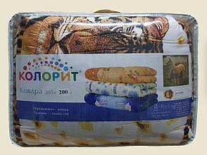 Ковдра КОЛОРИТ Шерсть 200*205, фото 2