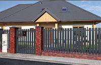 Забор штакетный секция Стандарт 2000 х 1250