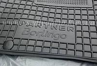 Передние коврики CITROЕN Berlingo 2008 г. 1+2 (AVTO-GUMM)