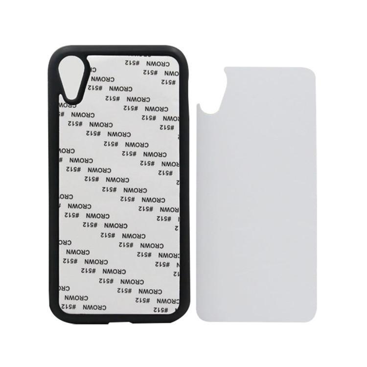 Чехол для сублимации 2D iPhone XR TPU (чёрный)