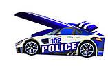 Кровать машина Полицейская машина Police серии Элит Бесплатная доставка, фото 2