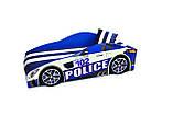 Кровать машина Полицейская машина Police серии Элит Бесплатная доставка, фото 4