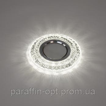 Світильник точковий  3W 4200K (прозорий/хром), фото 2
