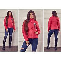 Куртка женская весенняя с лампасом Ригас 143-5