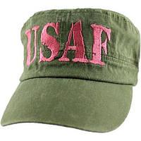 Кепка Eagle Crest Usaf Pink Letter-OD Flat Top-5 (6280)