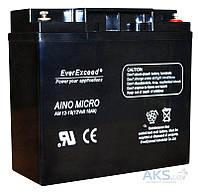 Аккумуляторная батарея EverExceed 12V 18Ah (AM 12-18)