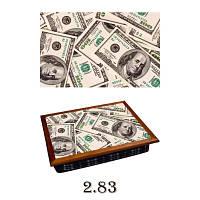 "Поднос подушка SNG "" 100 долларов 2.83"""