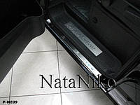Защита порогов - накладки на пороги Mercedes Vito W638 с 2004 г. (Premium)