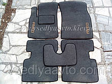 Ворсовые коврики в салон CHEVROLET Aveo с 2002-2012 гг. (Серые)