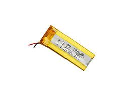 Аккумулятор литий-полимерный 3,7V 100mAh