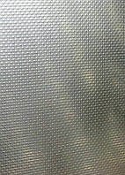 Лист нержавеющий декоративный (лен) 0,8 мм   AiSi 430 (12Х17)