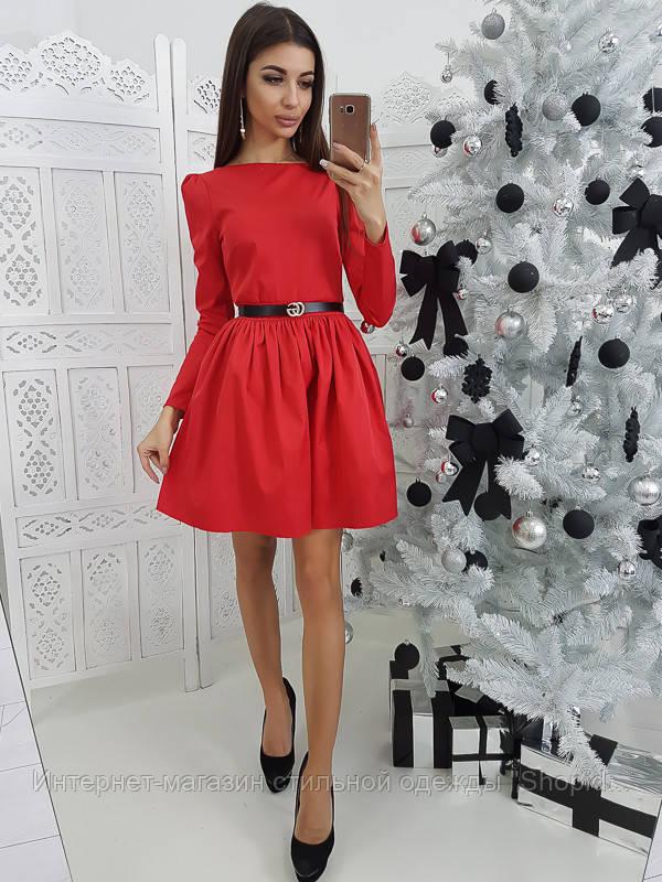 43e8e70a48a Женское платье с пышной юбкой и подъюбником из фатина  продажа