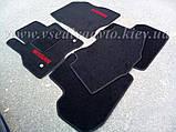 Ворсовые коврики в салон Nissan Leaf (Черные), фото 2