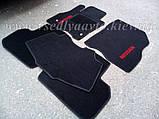 Ворсовые коврики в салон Nissan Leaf (Черные), фото 4