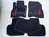 Ворсовые коврики в салон Nissan Leaf (Черные), фото 6