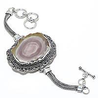 Яркий браслет с  императорской яшмой   от студии LadyStyle.Biz, фото 1