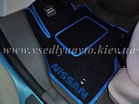 Водительский ворсовый коврик Nissan Leaf, фото 1