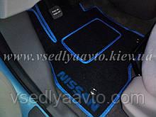 Водительский ворсовый коврик Nissan Leaf