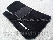 Водительский ворсовый коврик ЗАЗ Lanos
