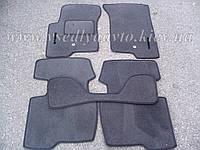 Ворсовые коврики в салон Dodge Caliber (Серые)