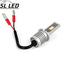 Комплект Led ламп серии SV10,  цоколь  H3 (PK22Ss)  13W-CSP led 6000K, фото 3