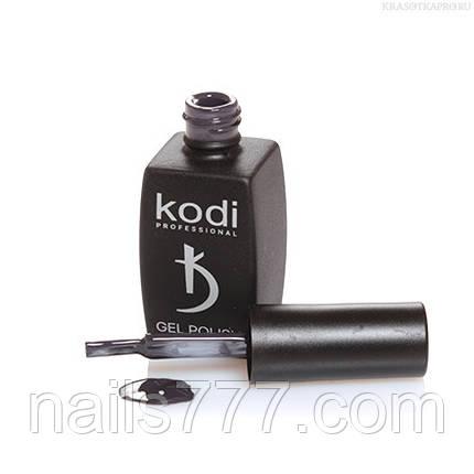 Гель лак Kodi  №90BW,темно-серый, фото 2
