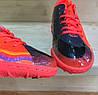 Мужские сороконожки - футзалки Nike Hypervenom оранжевые 41-46р реплика, фото 5