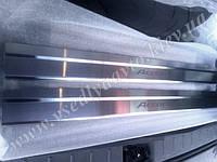 Защита порогов - накладки на пороги Honda ACCORD COUPE USA 2008- (Standart)