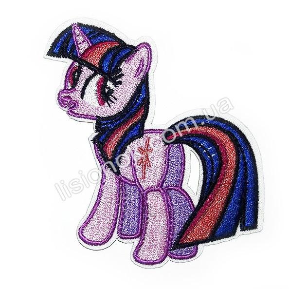 Термо-нашивка на одежду My little Pony Искорка