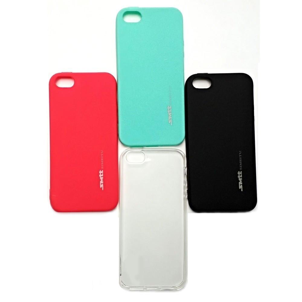 Накладка силиконовая SMTT iPhone X / XS 5.8 (черный)
