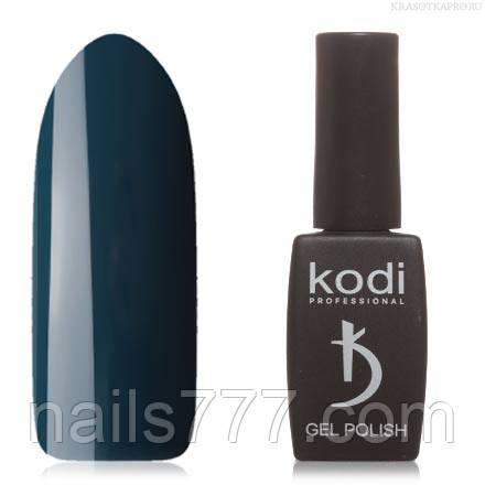 Гель лак Kodi  № 90AQ,зеленовато-синий
