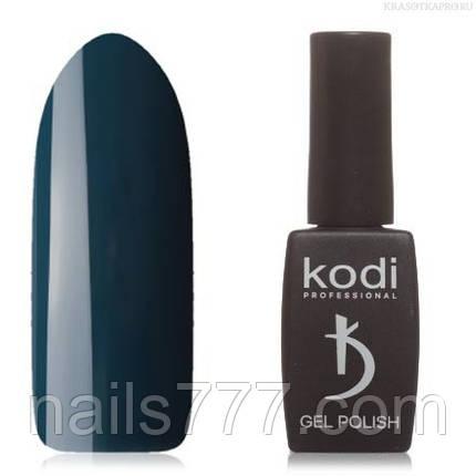 Гель лак Kodi  № 90AQ,зеленовато-синий, фото 2