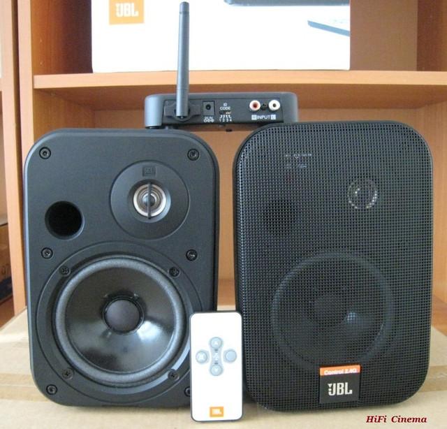 JBL Control 2.4 G Wireless Loudspeaker беспроводная акустика до 25 м