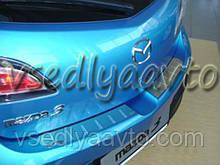Накладки на бампер Mazda 3 II 5-дверка с 2009- (NataNiko)
