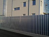 Забор штакетный секция Премиум 2500 х 500