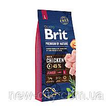 Brit Premium Dog Junior L 15 kg