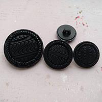 Пуговицы фигурные О-04-1 23мм черный