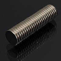 Неодимовый магнит 10*2мм, полукруглые канты