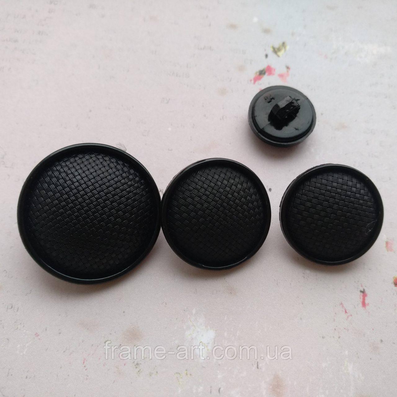 Пуговицы фигурные О-06 23мм черный