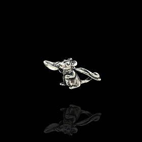 Серебряная кошельковая мышь с ложкой