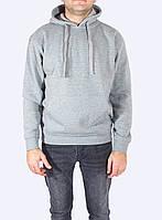 Толстовка с капюшоном мужская, серая, JHK SWRA KNG (Испания) повседневная одежда, S - XXL