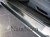 Защита порогов - накладки на пороги Dodge NITRO с 2007- (Standart)