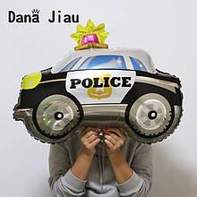 Фольгированный воздушный шар полицейская машина 74 х 65 см