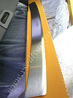 Накладка на бампер с загибом для Тойота Yaris с 2013 г.