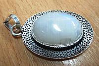 """Кулон  с натуральным лунным камнем """"Овал"""" от студии LadyStyle.Biz, фото 1"""